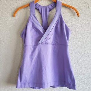 Lululemon   Deep Breath Tank 4 Grapeseed Purple
